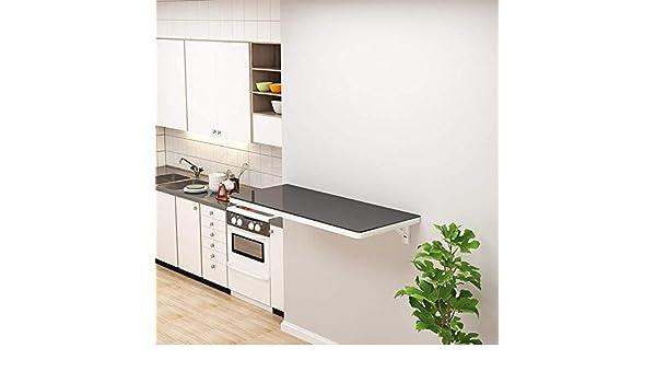 XIAOWEI Mesa Plegable de Pared Mesas abatibles para Mesa de Cocina y Comedor Escritorio para computadora portátil Mesa para niños para Oficina Cuarto de Lavado: Amazon.es: Hogar