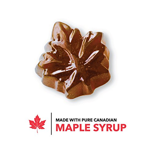 Premium Canadian Maple Sugar Hard Candy Drops Made from Pure Maple Syrup from Canada - Tristan Foods (3-lb) by Tristan Foods (Image #1)