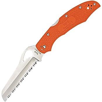 """Spyderco 2160178 BY17SOR2 Cara 2 Folding - Blade Open Knife, 3.93""""/8.68"""""""