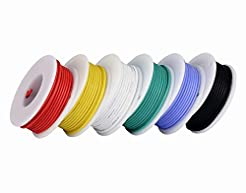18awg Electronic Wire Kit,Flexible Silic...