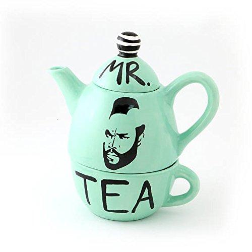 Mr. T Teapot Tea for One - Mint