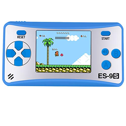 """ZHISHAN Retro Handheld Game Console Gaming Player System Birthday Gift for Kids Built in 168 Classic Nostalgia Games with 2.5"""" LCD Screen Arcade"""