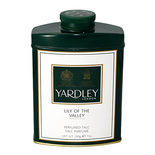 Valley Talc (Yardley of London Perfumed Talc for Women, Lily of The Valley, 7 Ounce)
