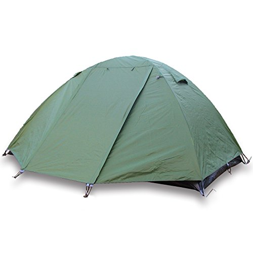 2 Person Camping Hiking Double Layer Backpacking Tent w/ Rainfly