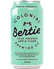 Colonial Brewing Co. Bertie Cold Pressed Apple Cider Can 375mL Case of 24