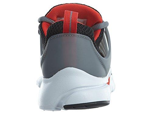 Chaussure De Course Air Presto Nike Kids Noir / Max Orange / Gris Froid