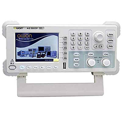 Electrical Tools and Testers High Precision AG2052F Signal Generators 50MHZ Bandwidth 14 Bits 250MSa/S Digital Signal Generators Multifunction Tester