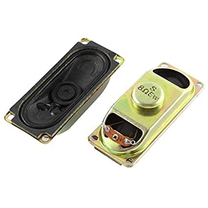 8 Ohm 5 W TV LCD Áudio Amplificador Speaker Altifalante Trombetas 2pcs