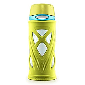 Zulu Shorty Tritan Water Bottle, Green, 16 oz