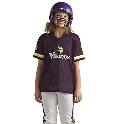Franklin Sports NFL Minnesota Vikings Deluxe Youth Uniform Set, Medium (Or choose your team)