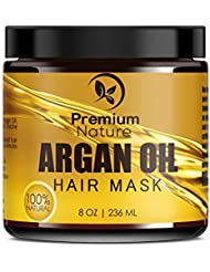 Argan Oil Hair Mask Deep Conditioner - Sulfate Free...