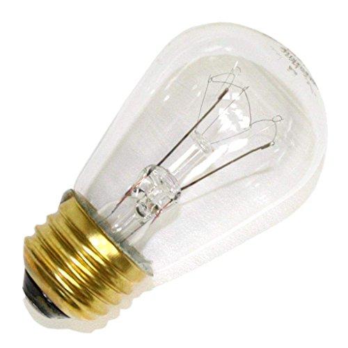 Litetronics 26250 - L-107 15 S14 CL Standard Screw Base Clear Scoreboard Sign Light Bulb