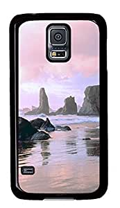 Samsung S5 case custom Face Rock State Park Oregon PC Black Custom Samsung Galaxy S5 Case Cover