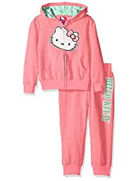 Hello Kitty girls French Terry Heather Active Set