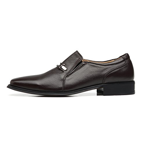 La Milano Men's Slip On Loafers Business Casual Comfortable Classic Leather Dress Shoes for Men by La Milano (Image #1)