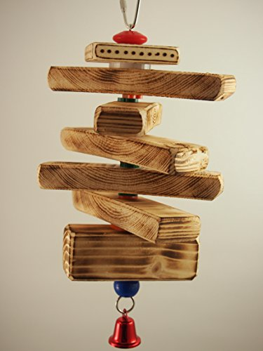 BIRD TOY: Logs of Fun Fun Perch