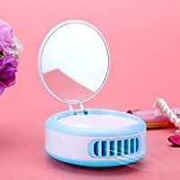 YOUDirect USB Mini Portable Fans - False Eyelashes Dryer Rechargeable Electric Bladeless Handheld Air Conditioning Cooling Refrigeration Fan For EyeSlash Extension, Nail Polish (Blue.)