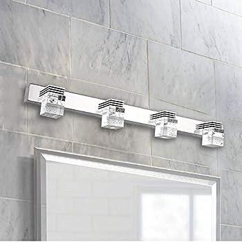 Ganeed Led Vanity Lights 12w Modern Crystal Bathroom Light Fixtures Led Vanity Lights Over