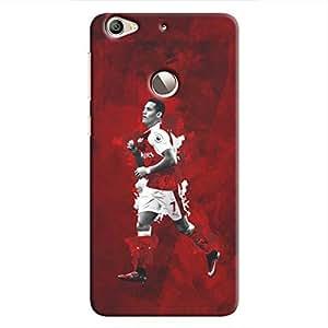 Cover It Up - Alexis Sanchez Red Le 1s Hard Case