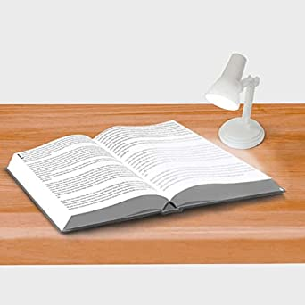 Sight Lights Mini Desk and Book Reading Lamp 1 of Each Black Pink Lamps Base /& Clip On Functions Pack of 3 White
