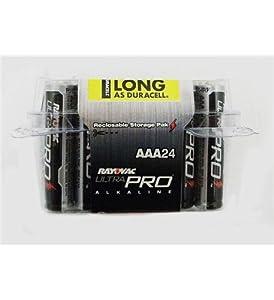 1 - Alkaline Reclosable AAA 24 Pack