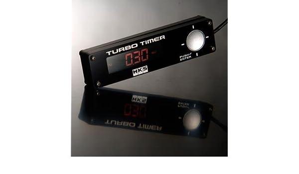 HKS TURBO TIMER Blue LED Back Light TYPE 0 BLACK UNIVERSAL 41001-AK009 RED LED - Plug In Timer Switches - Amazon.com