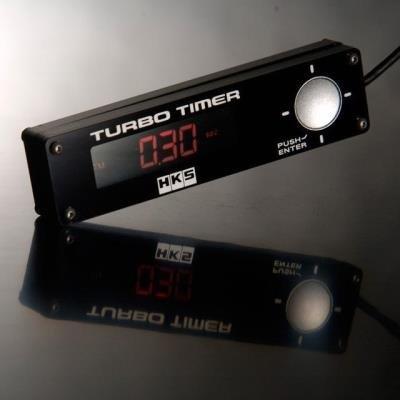 HKS TURBO TIMER Blue LED Back Light TYPE 0 BLACK UNIVERSAL 41001-AK009 RED LED
