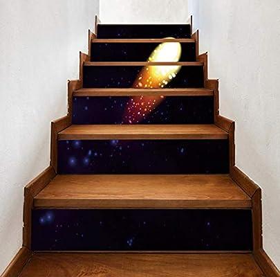 Etiqueta de la escalera a prueba de agua Cometa Escalera de casa Etiqueta de la pared Decoración Regalo Etiqueta de la pared Corredor Paso Decoración Etiqueta Etiqueta del pvc: Amazon.es: Bricolaje y