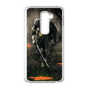 Dark Souls LG G2 Cell Phone Case White Exquisite designs Phone Case KMJ52176