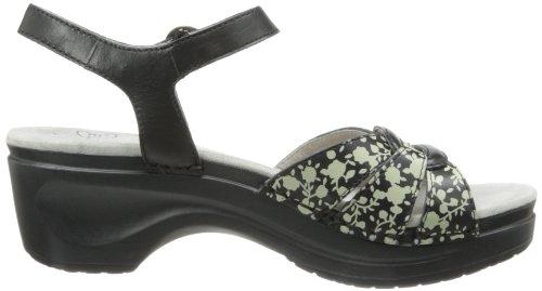 Sanita - Sandalias de vestir para mujer multicolor - negro