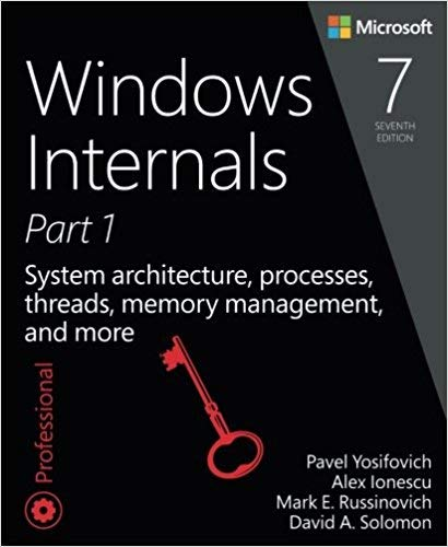 [0735684189] [9780735684188] Windows Internals, Part 1: System architecture, processes, threads, memory management, and more (7th Edition)-Paperback