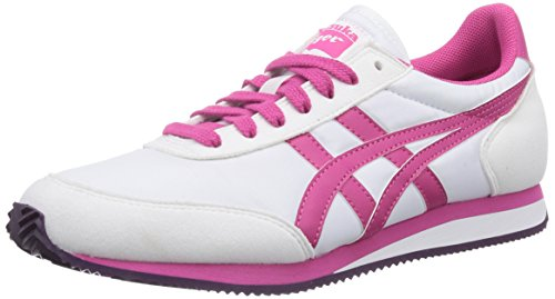 Fuchsia de adulte Purple Blanc white Chaussures 0118 mixte Asics Sakurada trail pq1xq7z