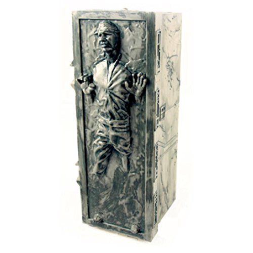 disney star wars han solo frozn carbonite popcorns bucket new never used -