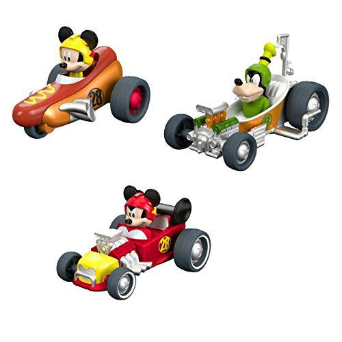 (Bundle - Fisher-Price Disney Mickey Mouse Clubhouse - Pull n' Go Hot Rod, Pull n' Go Hot Dogster, and Pull n' Go Tubster Vehicle's (Disney Junior))