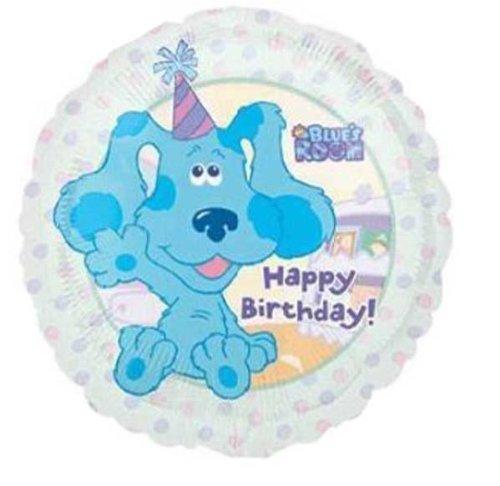 "18"" Blues Clues Nick Jr ""Happy Birthday"" Balloon"