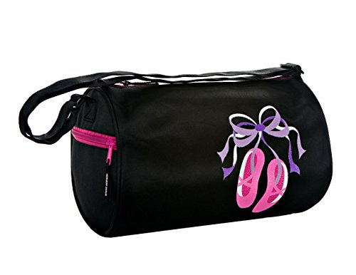 - Horizon Dance 1302 Giggle Toes Ballet Duffel Bag for Young Dancers - Black