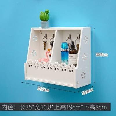 浴室 棚 掛けシャンプー化粧品 収納 ラック パーティション防 空間利用ハンガー -3 [並行輸入品] B07SFZSSSZ
