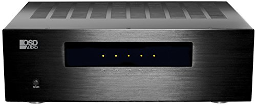 5 Channel Home Theater Amp 180W 4Ohm Balance XLR & RCA inputs Digital Class H OSD Audio