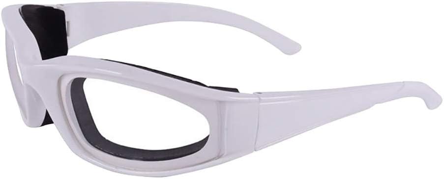winddicht und staubdicht langlebig Verlike Zwiebelbrille Augenschutz K/üchenwerkzeug gr/ün