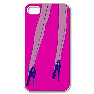 Clzpg New Fashion Iphone4,Iphone4S Case - High-heeled diy cell phone case