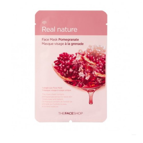 3-Pack-THE-FACE-SHOP-Real-Nature-Mask-Pomegranate