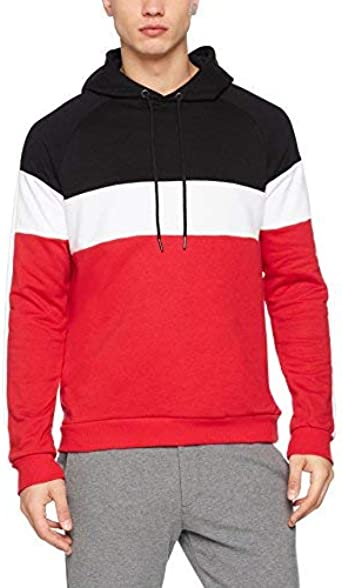 TALLA XS. New Look Sport Blocked Over The Head Sudadera para Hombre