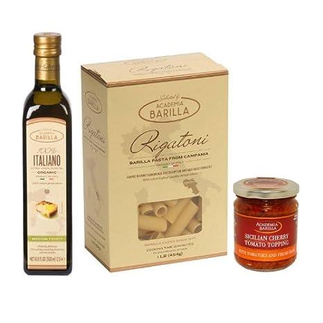 Amazon.com : Academia Barilla Pasta Gift Pack, Sicilian : Grocery & Gourmet Food