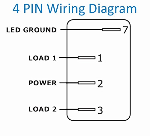 4 Prong Rocker Switch Wiring Diagram - Wiring Diagrams Folder on