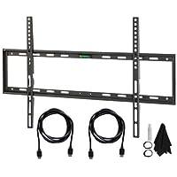 Deco Mount T3260KT Flat and Tilt Wall Mount Kit Ultimate Bundle for TVs, 32-60