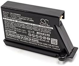 vhbw Batería Li-Ion 2600mAh (14.4V) para robot limpiasuelos robot autónomo de limpieza LG HomBot VR6171LVM, VR6260, VR62601LV, VR62601LVM, VR6260LV