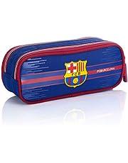 FC Barcelona Zak - mapje FC-227 Fan 7 etui, 22 cm, marineblauw