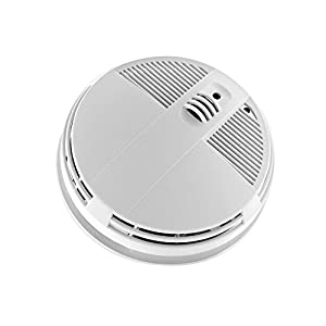 KJB SC7200WF HD 720P Xtreme Life Battery Operated WiFi Smoke Detector Bottom View Hidden Camera
