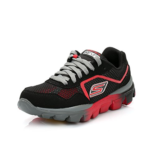 Skechers Go Run Ride Supreme Little Kids Running Shoes 95672LBKRD Size 13 D (Standard Width) Black/Red