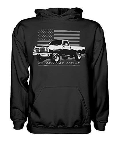 1st Gen Dodge Ram Apparel American Flag Hoodie - Sweatshirt Dodge
